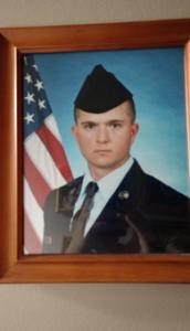 Nicholas Schadd in uniform